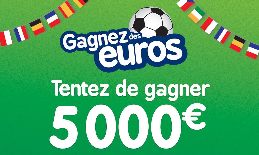 Grand jeu Gagnez des Euros