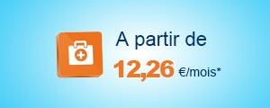 A partir de 12,26 €/mois