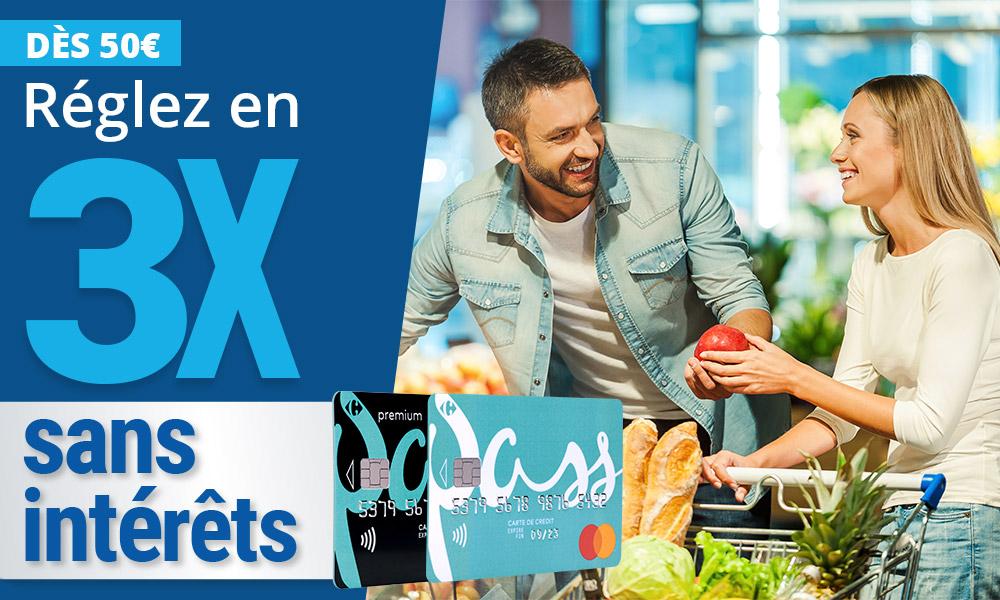 Carrefour Banque Credit Epargne Assurance Cartes Bancaires