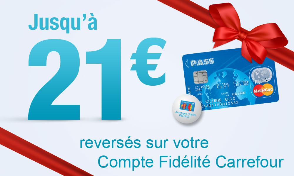Jusqu'à 21 euros remboursés