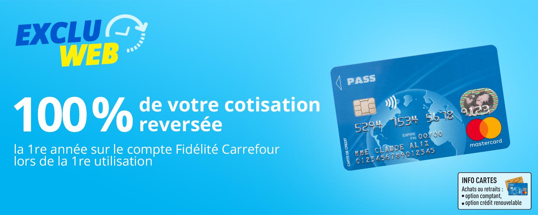 Carte Carrefour Perdue Formulaire.Economies Et Privileges Chez Carrefour Carrefour Banque