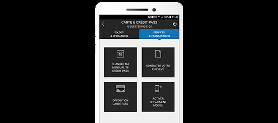 Application Espace Client Carrefour Banque