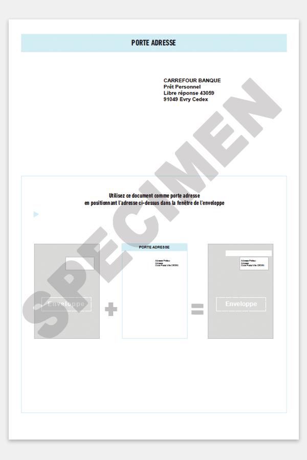 Comment Completer Votre Contrat De Pret Personnel Carrefour Banque