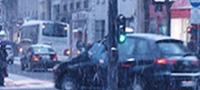 Auto en hiver