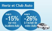 Réduction sur l'achat et la location auto avec la Carte PASS