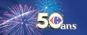Soirée exclusive 50 ans Carrefour